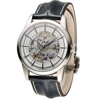 【漢米爾頓 Hamilton】永恆經典鏤空腕錶(H40655751)