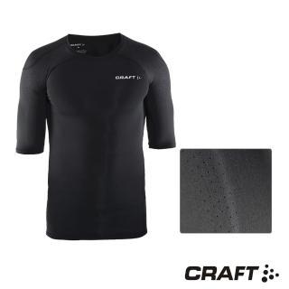 【CRAFT】DELTA男款運動壓縮短袖上衣(黑色)