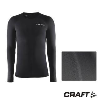 【CRAFT】DELTA男款運動壓縮長袖上衣(黑色)