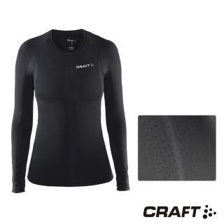 【CRAFT】DELTA女款運動壓縮長袖上衣(黑色)