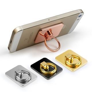 手機 360度旋轉金屬鏡面指環支架
