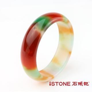 【石頭記】富貴迎人彩虹玉髓(手鐲)