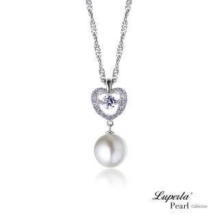 【大東山珠寶】璀璨純銀天然珍珠項鍊 魅力之舞(時尚珍珠)