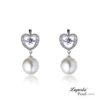 【大東山珠寶】璀璨純銀天然珍珠耳環 -魅力之舞(時尚珍珠)