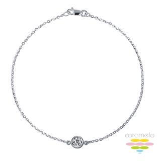 【彩糖鑽工坊】幸福樂章 Happiness 鑽石項鍊(CL-PD182 高音譜記號)