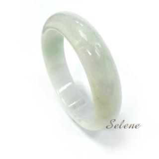 【Selene珠寶】典雅冰種翡翠手鐲(A貨翡翠6599)