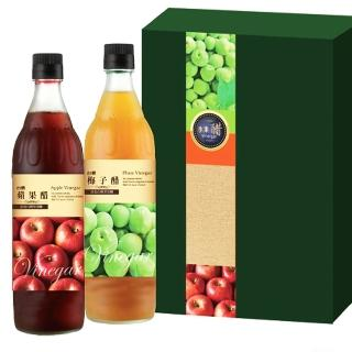 【台糖優食】水果醋禮盒 蘋果醋 梅子醋(健康伴手禮)
