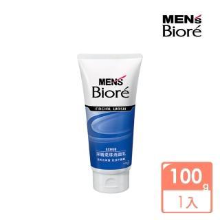 【MENS Biore】男性專用深層柔珠洗面乳(100g)
