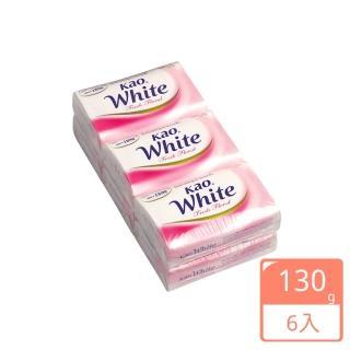【花王】香皂 清新花香(130gX6入)