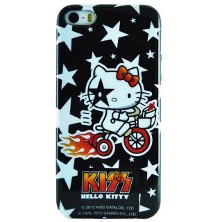 【Aztec】凱蒂貓 Apple iPhone5/5s 矽膠軟手機殼(星光單車)