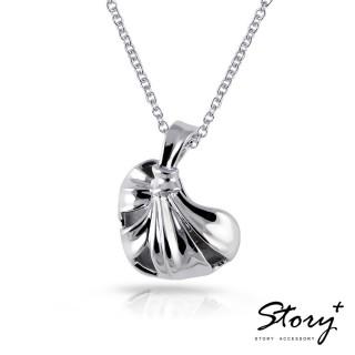 【STORY ACCESSORY】海克力斯之結-心型純銀項鍊(愛心 純銀項鍊)