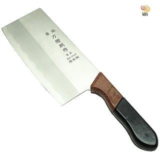 【月陽】刀鑽別作冷鍛處理日本鋼料理切剁刀兩用刀(J-10005)