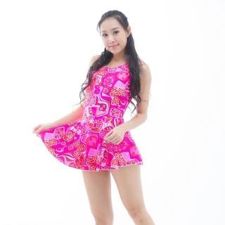 【BICH LOAN】泡湯/SPA專用大尺碼連身裙泳裝(13006616)