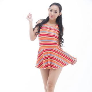 【BICH LOAN】泡湯/SPA專用大尺碼連身裙泳裝(13006617)