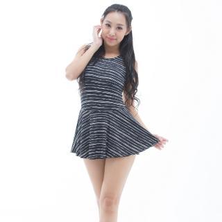 【BICH LOAN】泡湯/SPA專用大尺碼連身裙泳裝(13006618)