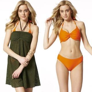 【SARBIS】MIT大女三件式比基尼泳裝(附泳帽B93509)