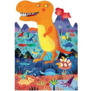 【西班牙Londji】恐龍世界造型拼圖(36片)