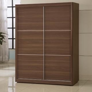 【日本直人木業】wood北歐生活150CM衣櫃