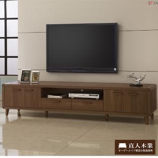 【日本直人木業】wood北歐生活210CM電視櫃