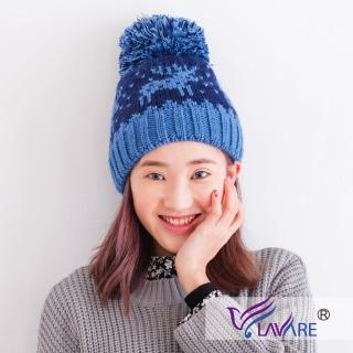【LAVARE】雙層升溫蓄熱帽(麋鹿-藍)