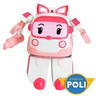 【POLI】LED閃燈變形安寶(機器人)