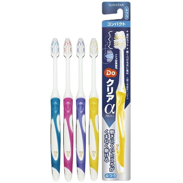 【三詩達】DO波浪型潔淨牙刷1支-中性毛