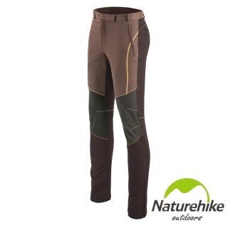 【Naturehike】拚色休閒褲/速乾褲/戶外褲 女款(咖啡)