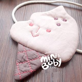 【梨花HaNA】韓國寶寶手工冰淇淋雪糕包包小側包