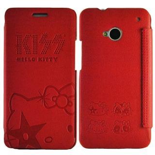 【Aztec】凱蒂貓 Sony Xperia Z1 矽膠軟手機殼(高調紅)