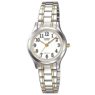 【CASIO】高貴優雅女士腕錶(LTP-1275SG-7B)