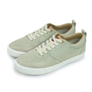 【PONY】女 經典復古滑板鞋 SUBWAY(灰卡其 61W1SU02LG)