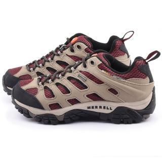 【MERRELL】女款 MOAB GORE-TEX多功能健行運動鞋(ML57750-米)