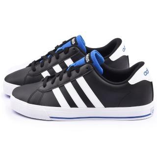 【Adidas】男款 Daily 復古休閒鞋(F99637-黑白)