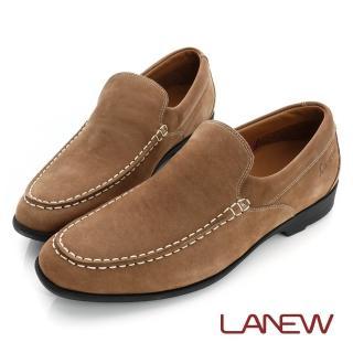 【La new】輕蜓系列 輕量休閒鞋 氣墊懶人鞋(男221036705)