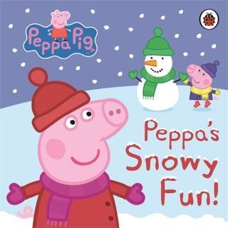 【Song Baby】Peppa Pig:Snowy Fun(硬頁書)