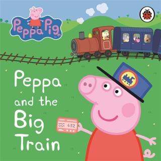 【Song Baby】Peppa Pig:Peppa And The Big Train(硬頁書)