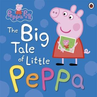 【Song Baby】Peppa Pig:The Big Tale Of Little Peppa(平裝書)