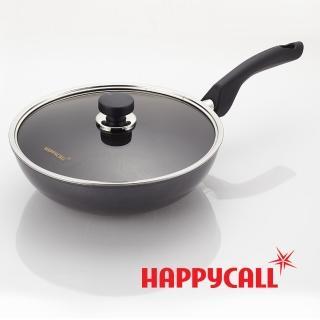【韓國HAPPYCALL】李英愛頂級鈦晶不沾鍋(30炒鍋+30鍋蓋)