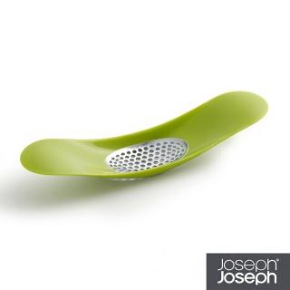 【Joseph Joseph 英國創意設計餐廚】好輕鬆壓蒜器-綠色(20062)