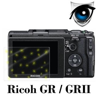 【D&A】Ricoh GR/GRII 日本原膜增豔螢幕貼(9H防藍光疏油疏水型)