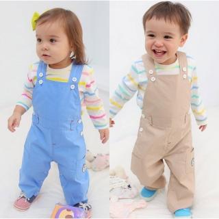 【baby童衣】連身衣 休閒套裝 條紋上衣吊帶褲兩件套 60019(共2色)