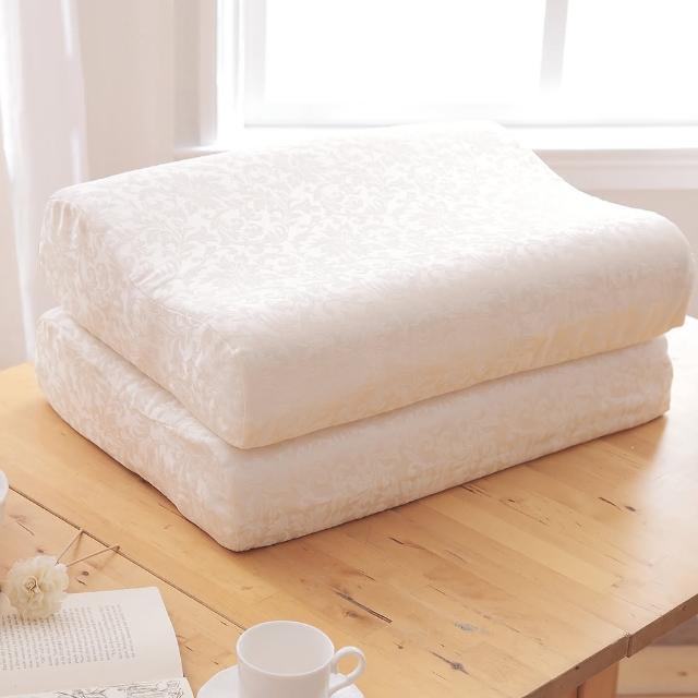 【HO KANG】美國泰勒.比利 100%天然乳膠厚枕(2入)