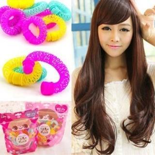 【快速出貨】日本熱賣甜甜圈造型捲髮器  2個(H019)