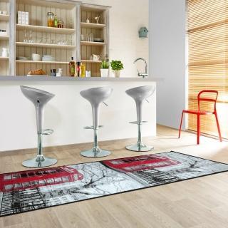 【范登伯格】快樂頌 異國風情絲質地毯/地墊-電話庭(67x240cm)