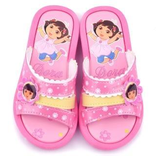 【童鞋城堡】朵拉 中大童 戶外拖鞋(DR2967-粉)