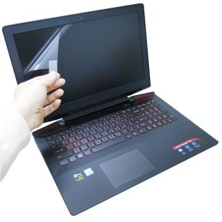 【EZstick】Lenovo Y700 15 ISK 非觸控款 系列專用 靜電式筆電液晶螢幕貼(可選鏡面或霧面)