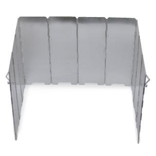 【DIBOTE】輕量鋁合金10片擋風板(附收納袋)