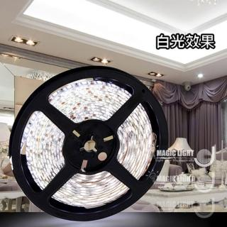 【光的魔法師 Magic Light】LED軟燈帶 60燈 DC12V / 5米入(白光 軟燈條)