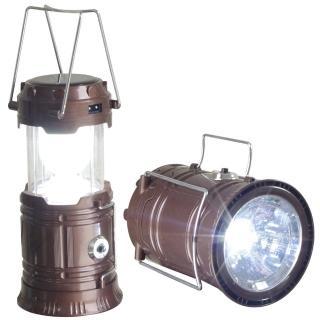 【新一代】太陽能充電露營燈/手電筒