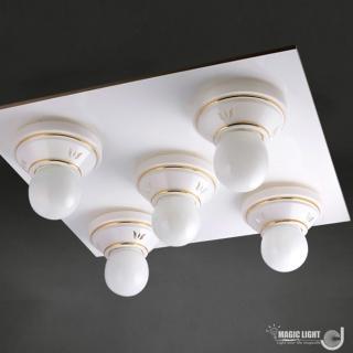 【光的魔法師 Magic Light】美術型輕鋼架燈具 卡森 輕鋼架五燈